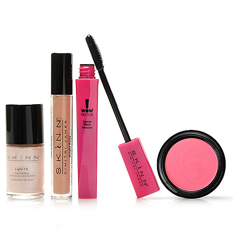 306-498 - Skinn Cosmetics Four-Piece ''Finishing Touches'' Collection