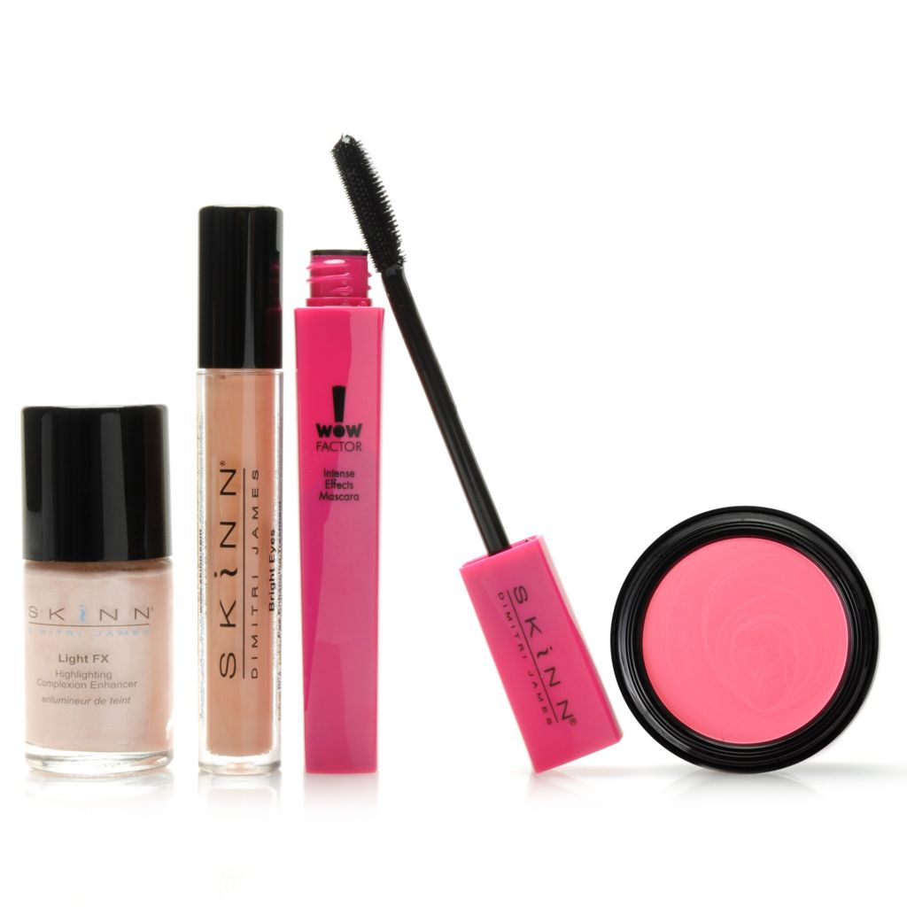 "306-498 - Skinn Cosmetics Four-Piece ""Finishing Touches"" Collection"
