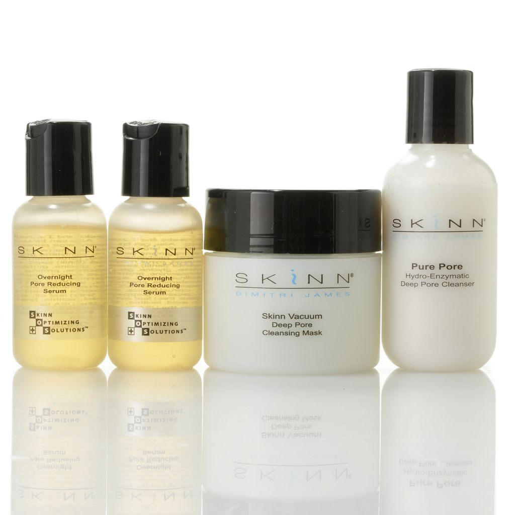 306-500 - Skinn Cosmetics Four-Piece Pore Perfection Collection