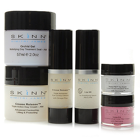 306-503 - Skinn Cosmetics Six-Piece Triple Play Treat & Correct Collection
