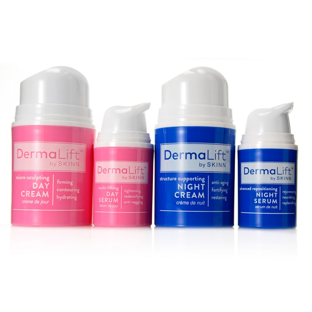 306-519 - Skinn Cosmetics Four-Piece DermaLift™ Day & Night Treatment Skincare Set