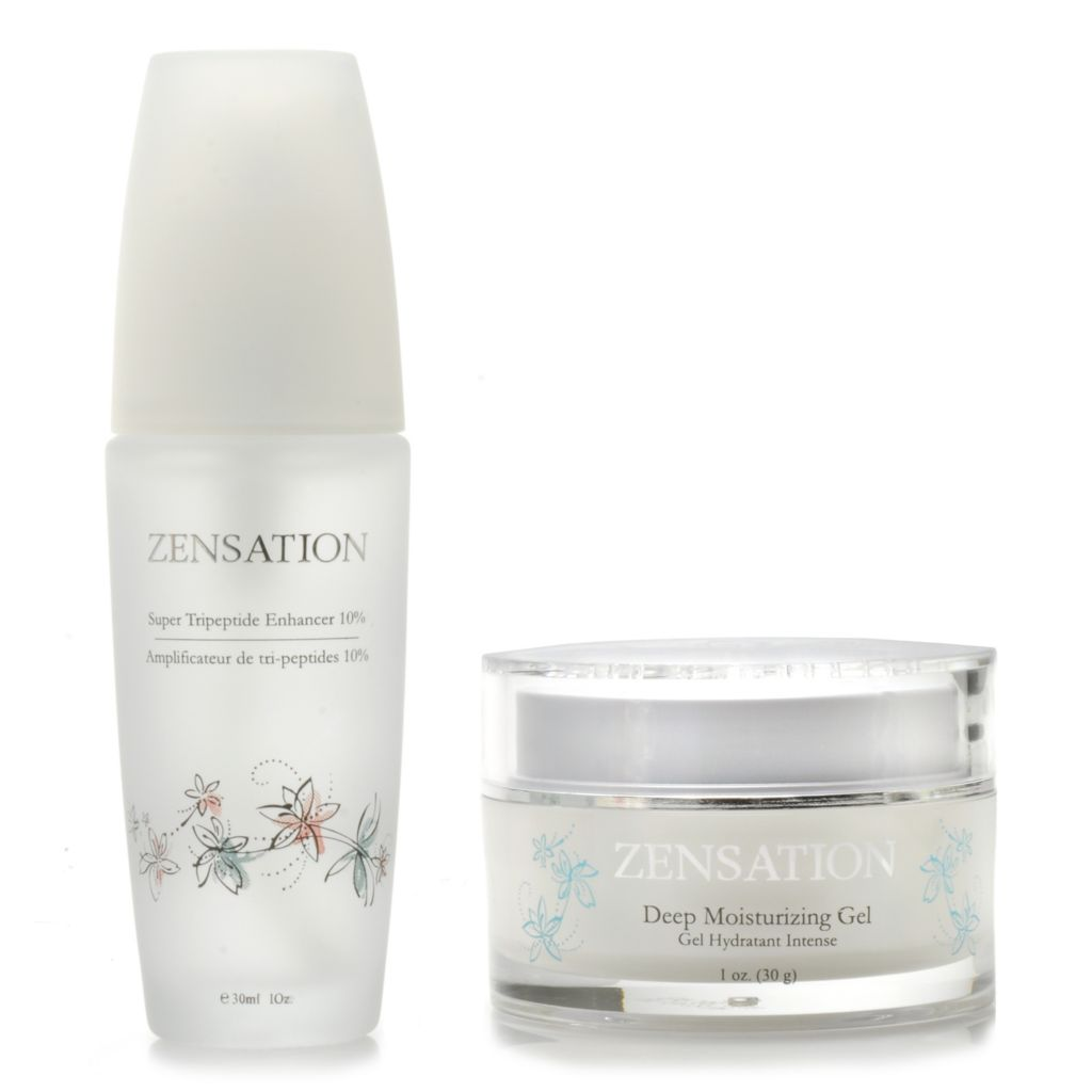 306-526 - ZENSATION® Deep Moisturizing Gel & Super Tripeptide Enhancer 10% Duo