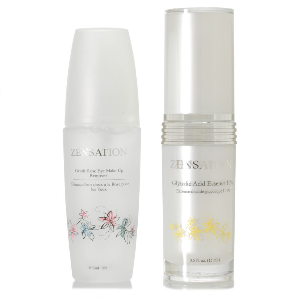 306-536 - ZENSATION® Glycolic Acid Essence 10% & Eye Makeup Remover Duo