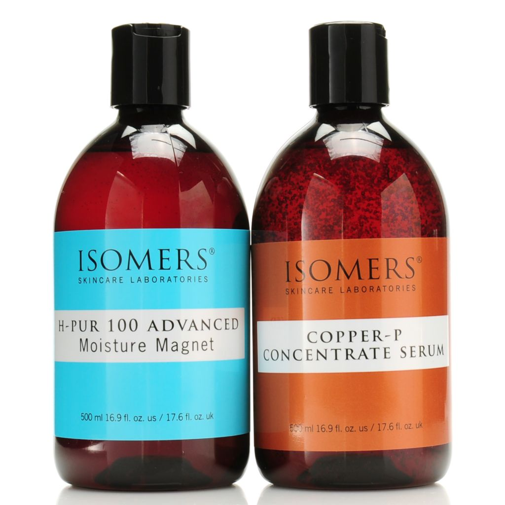 306-547 - ISOMERS® Copper P & H Pur 100 Smooth & Firm Half Liter Serum Duo 16.9 oz Each