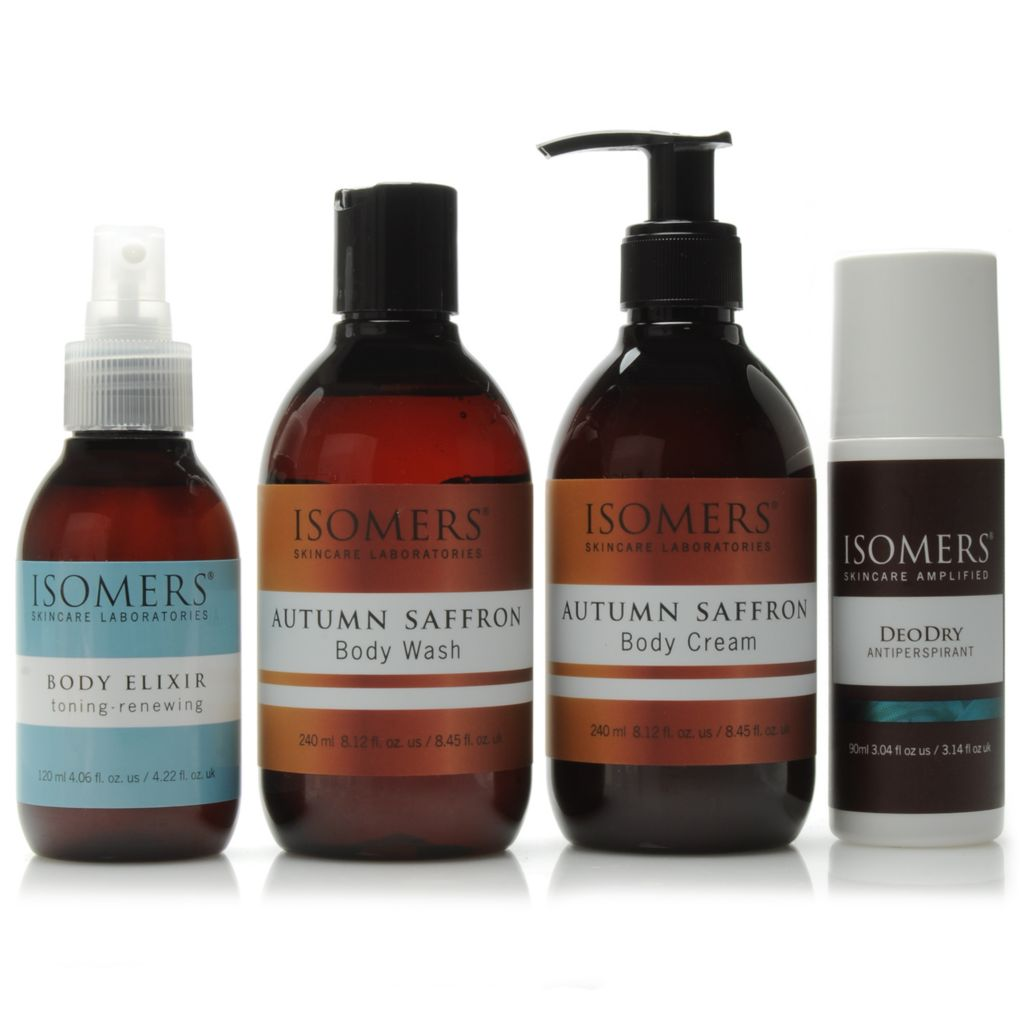 306-550 - ISOMERS® Four-Piece Beautiful Body Essentials Kit