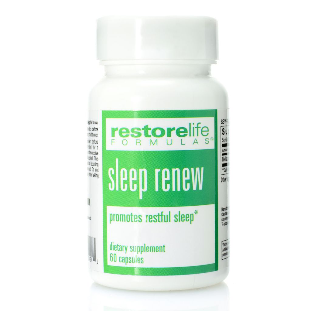 306-584 - Suzanne Somers Restorelife Sleep Renew Supplement 30 Day Supply