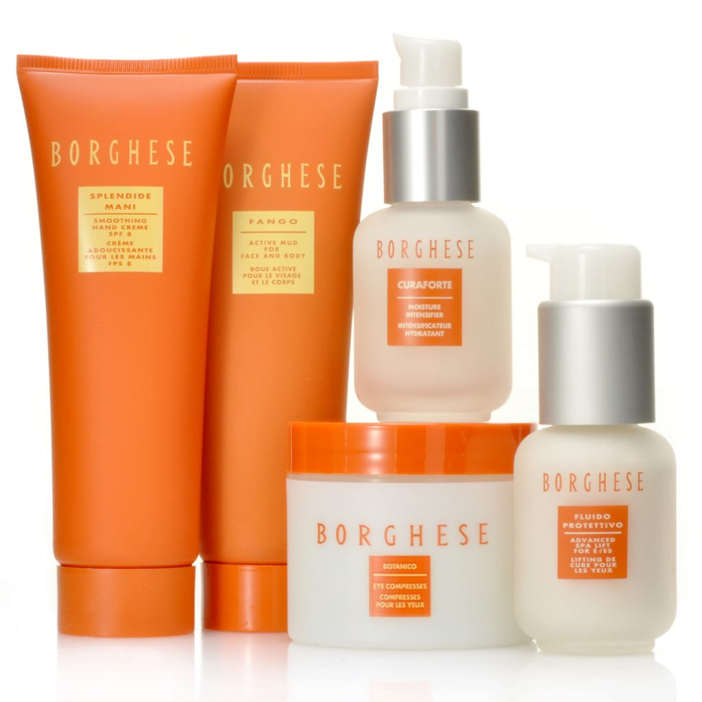 306-606 - Borghese Five-Piece Essential Beauty Skincare Set