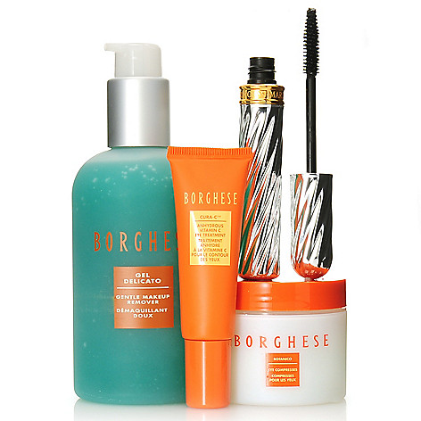 306-611 - Borghese Four-Piece ''The Eyes Have It'' Mascara & Skincare Kit