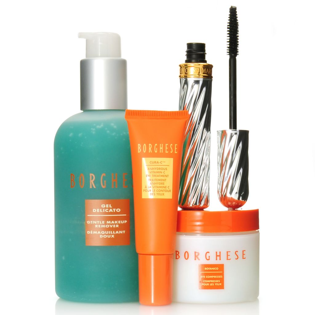 "306-611 - Borghese Four-Piece ""The Eyes Have It"" Mascara & Skincare Kit"