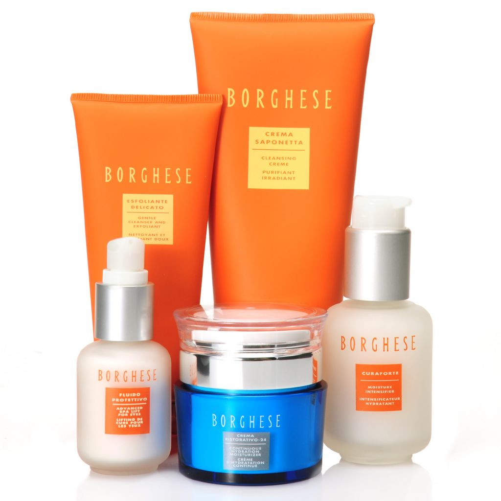 306-613 - Borghese Five-Piece Day Renewal Skincare Collection