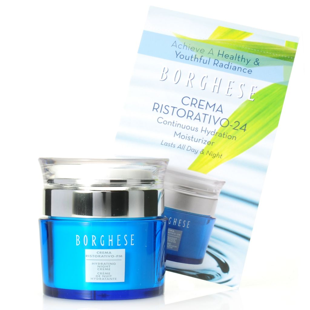 306-617 - Borghese Crema Ristoritivo Hydrating Night Cream w/ Bonus Sample Pod