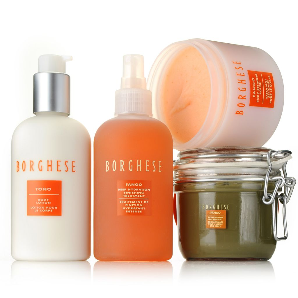 306-619 - Borghese Four-Piece Fango Spa Refining & Finishing Kit
