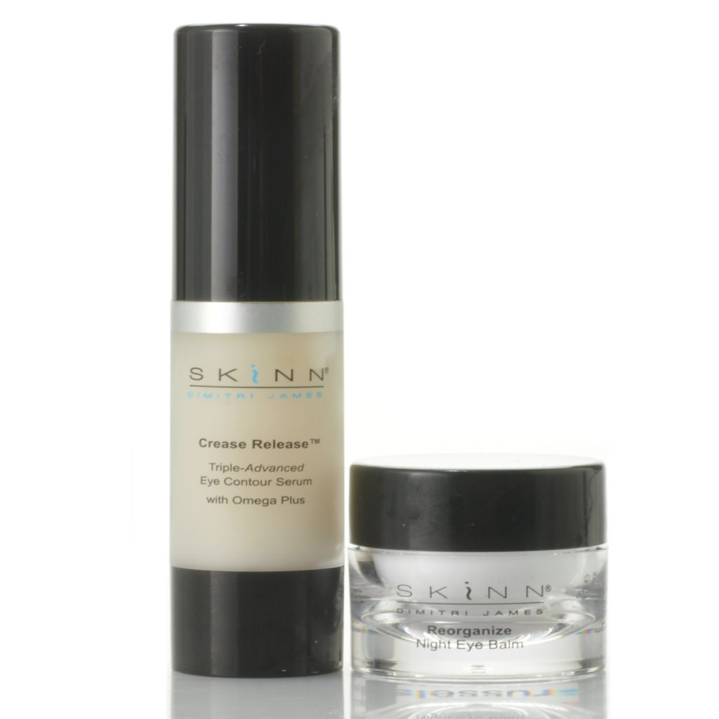 306-664 - Skinn Cosmetics Crease Release Eye Serum & Reorganize Night Eye Balm Duo