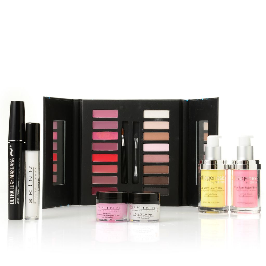 306-666 - Skinn Cosmetics Seven-Piece Collagenesis Double Duty Collection
