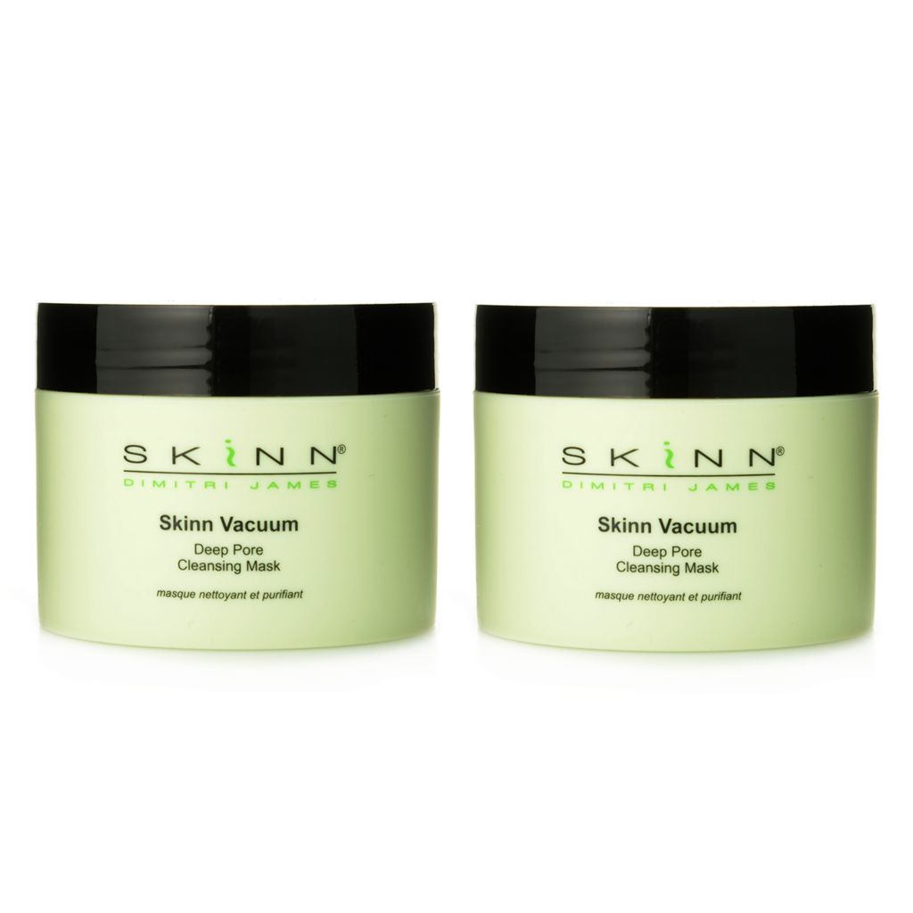 306-668 - Skinn Cosmetics Vacuum Deep Pore Cleansing Mask Duo 2 oz Each
