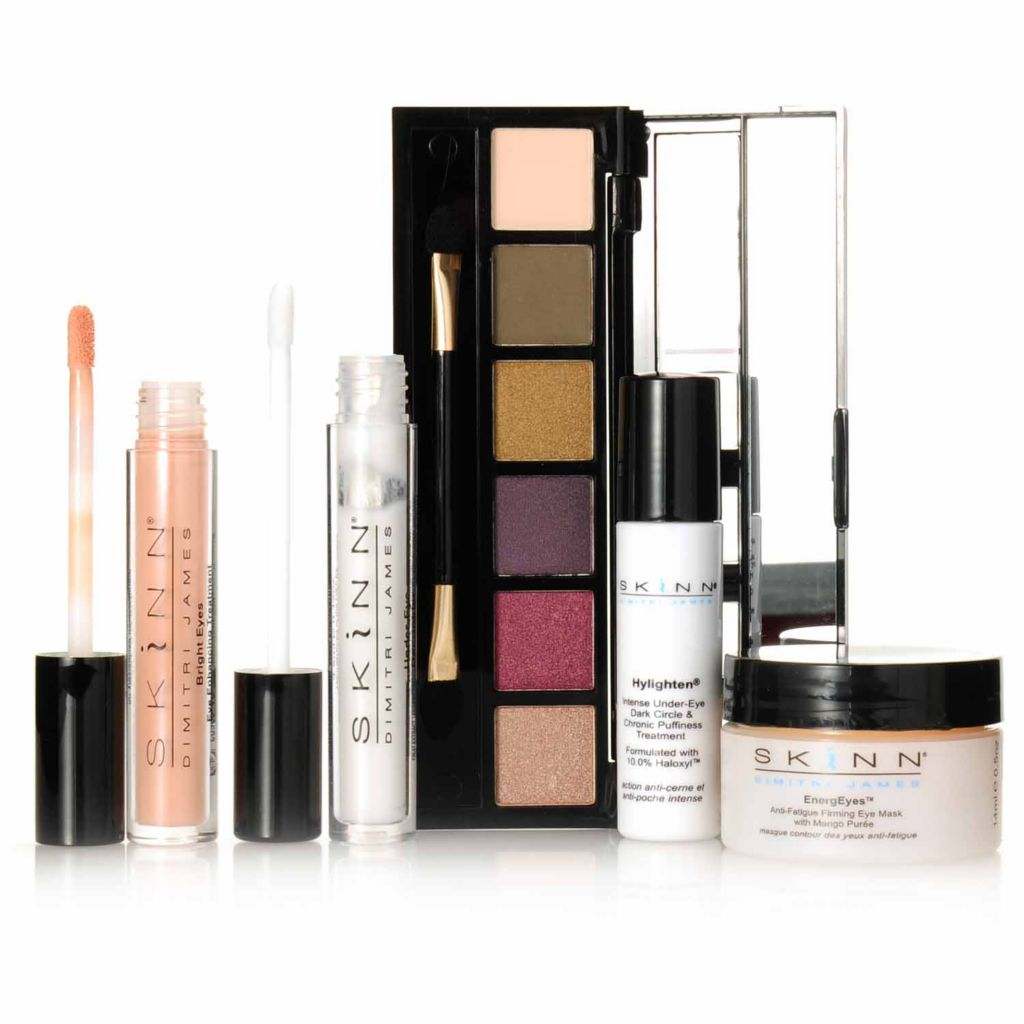 "306-670 - Skinn Cosmetics Five-Piece ""Eye Treat Myself"" Essentials Collection"