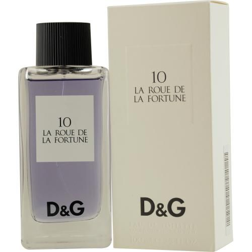 306-704 - D & G Women's 10 La Roue de La Fortune Eau de Toilette Spray - 3.3 oz