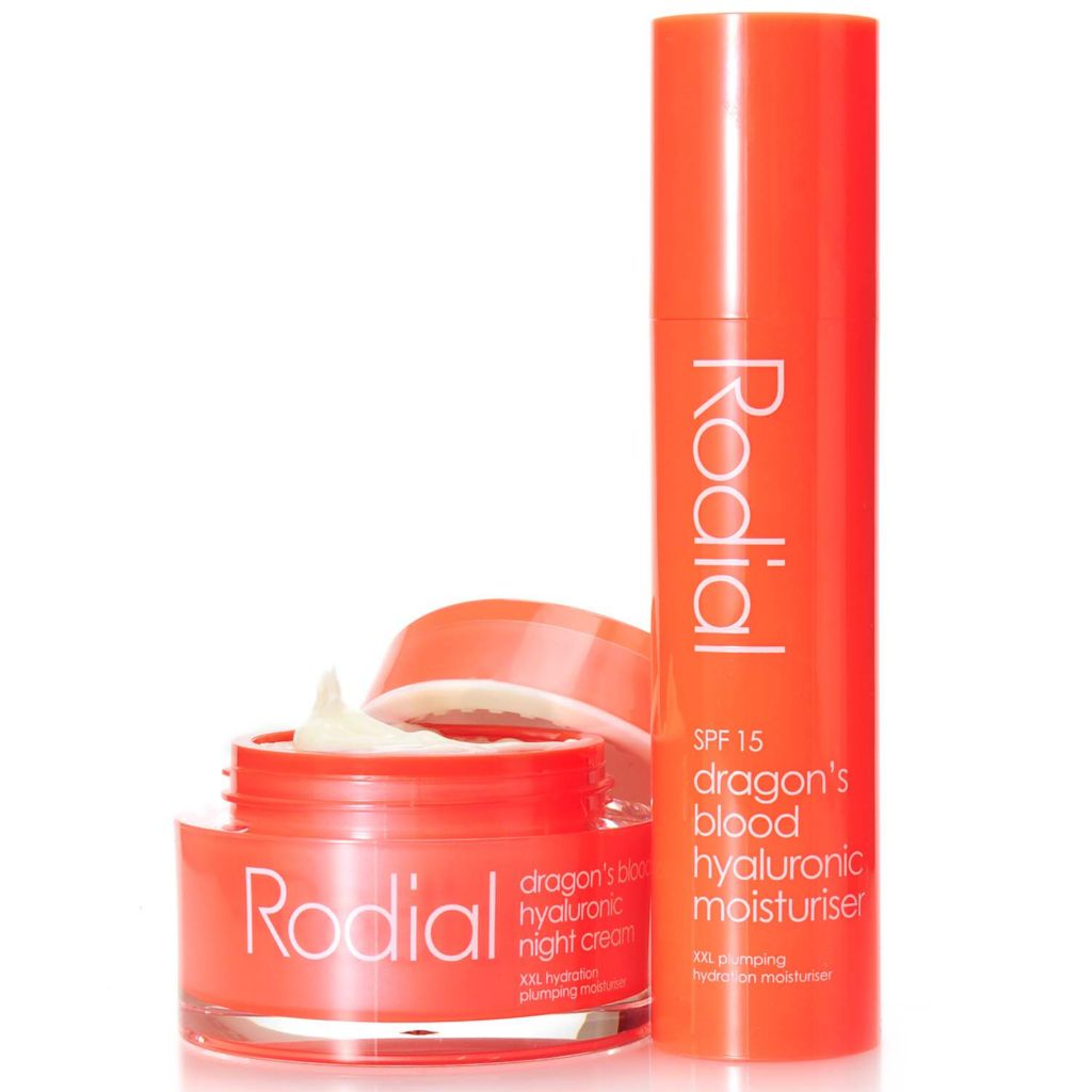306-747 - Rodial Dragon's Blood Night Cream & Moisturizer SPF 15 Anti-Aging Duo