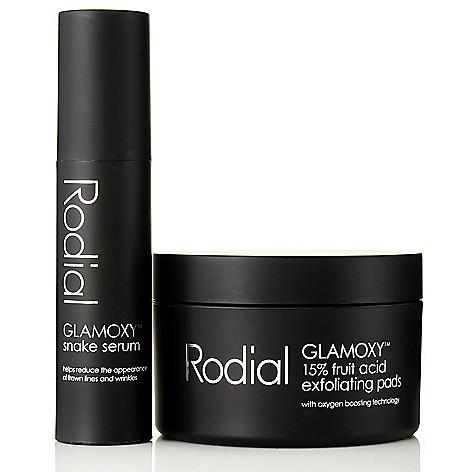 306-750 - Rodial GLAMOXY™ Snake Serum & Exfoliating Pads Skincare Duo