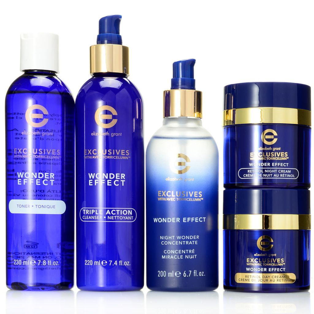 306-754 - Elizabeth Grant Five-Piece Retinol Glycolic Skin Renewal Collection