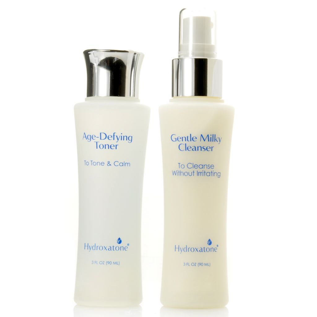 306-765 - Hydroxatone Gentle Milky Cleanser & Age-Defying Toner Duo