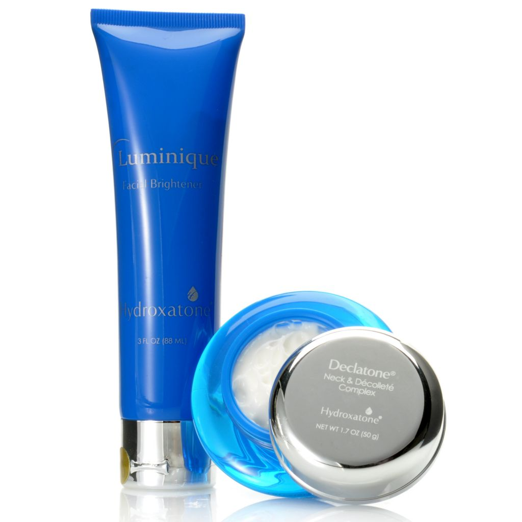306-768 - Hydroxatone Declatone Neck & Decollete Complex & Luminique Facial Brightener Duo