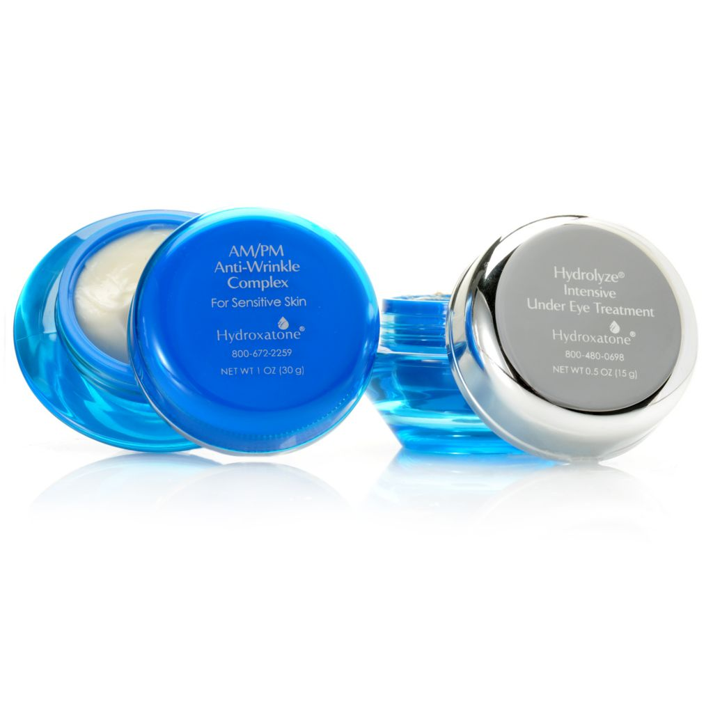 306-771 - Hydroxatone AM/PM Anti-Wrinkle For Sensitive Skin & Hydrolyze Under Eye Treatment Duo