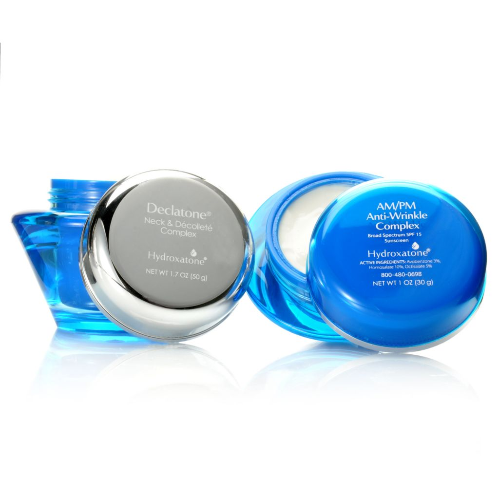 306-773 - Hydroxatone Declatone Neck & Decollete Complex & AM/PM Anti- Wrinkle SPF 15 Duo