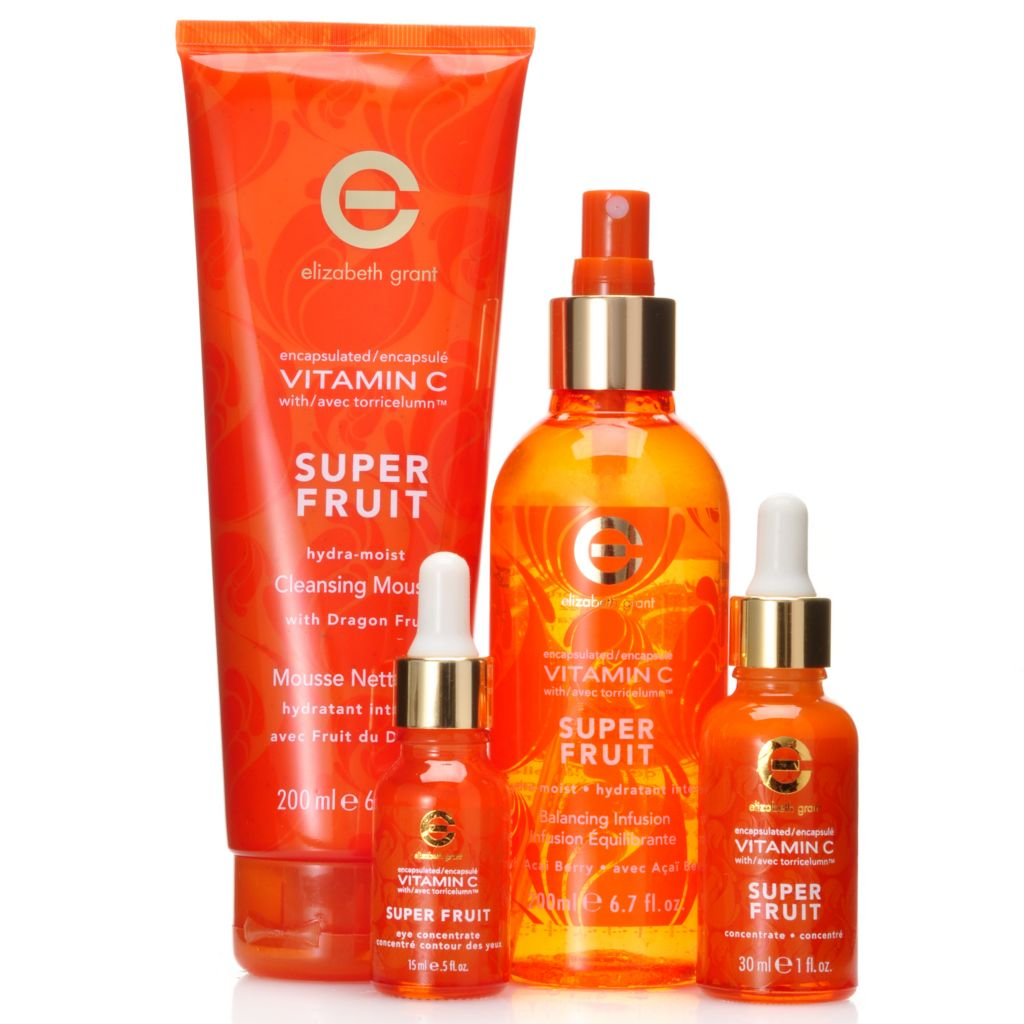 306-830 - Elizabeth Grant Four-Piece Vitamin C Hydra-Moist Super Fruit Collection