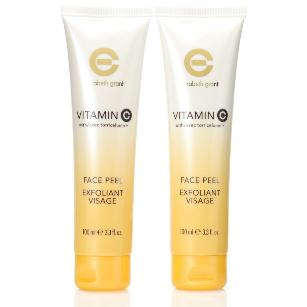306-836 - Elizabeth Grant Vitamin C Face Peel Duo 3.3 oz Each