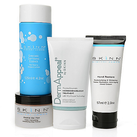 306-847 - Skinn Cosmetics Four-Piece ''Customer Favorite'' Skincare Collection