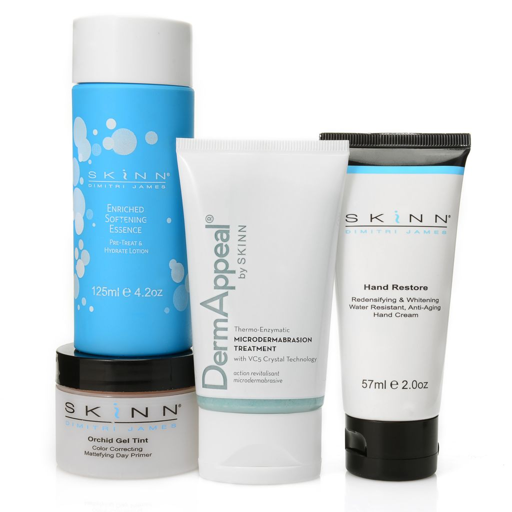 "306-847 - Skinn Cosmetics Four-Piece ""Customer Favorite"" Skincare Collection"