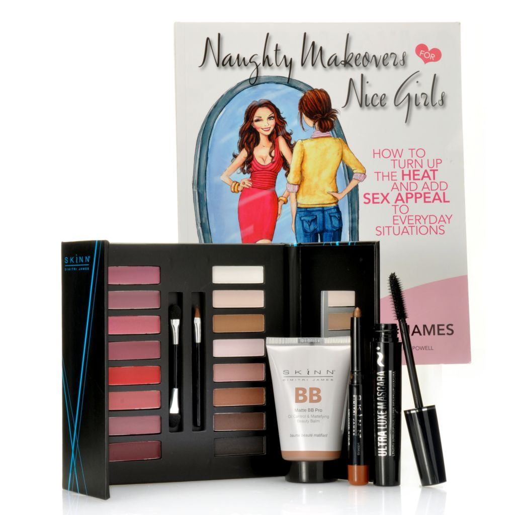 "306-852 - Skinn Cosmetics 5-Piece ""Naughty Makeovers"" Quick Makeover Collection"
