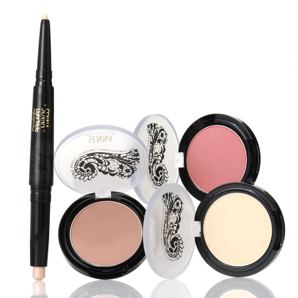 306-869 - SENNA Four-Piece Face Sculpting & Contouring Essentials Kit