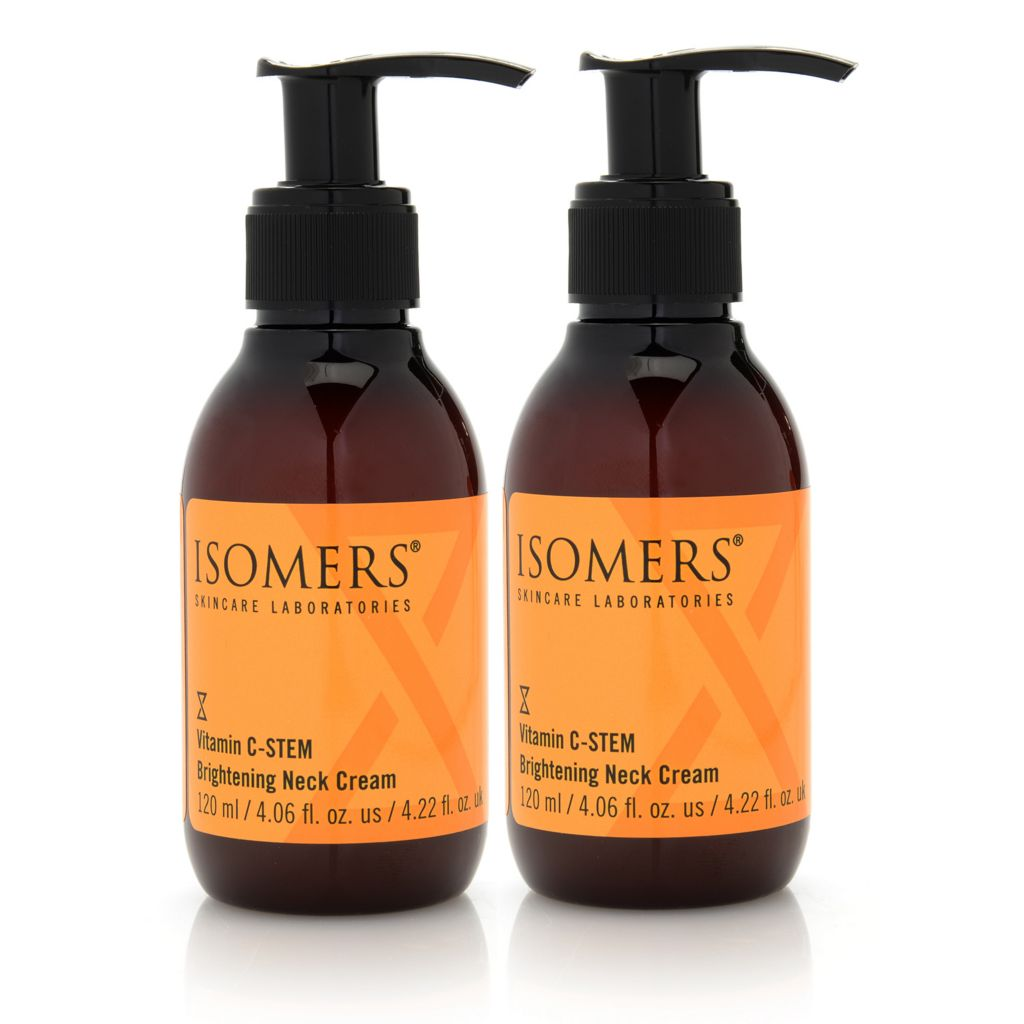 306-929 - ISOMERS® Vitamin C-STEM Brightening Neck Cream Duo 4 oz Each