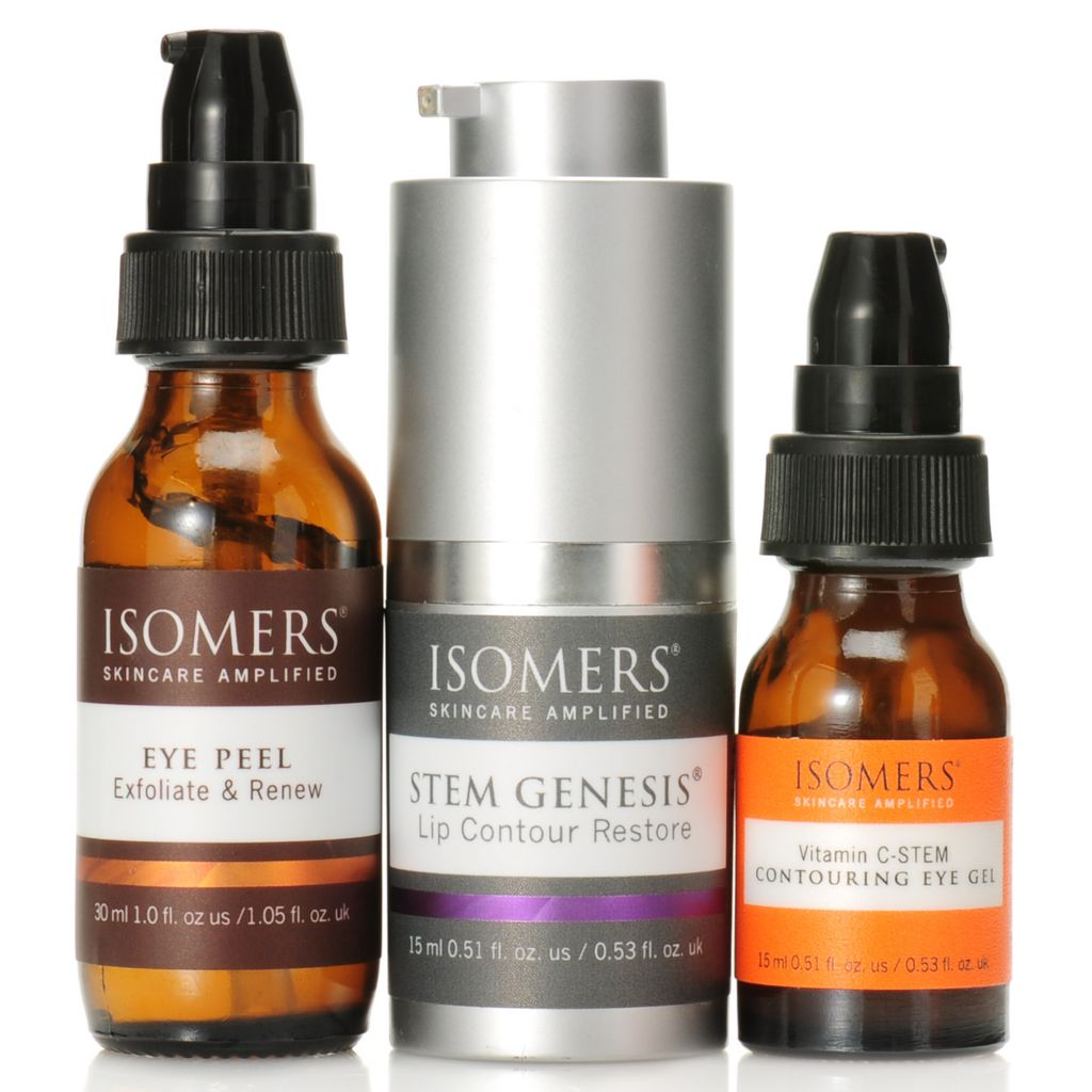 306-930 - ISOMERS® Three-Piece Eye & Lip Contour & Restore Skincare Kit
