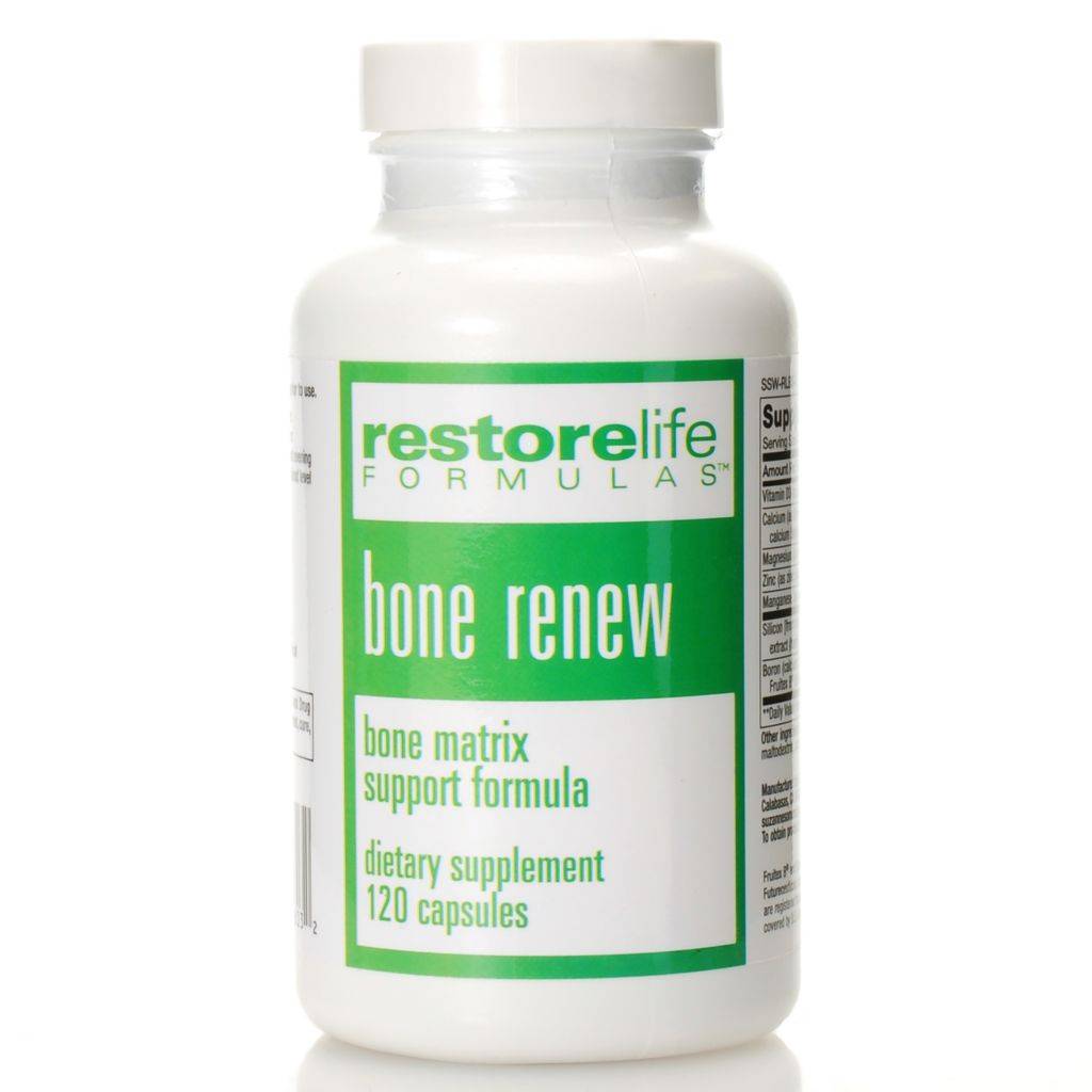 306-931 - Suzanne Somers RestoreLife Bone Renew Supplements 30 Day Supply