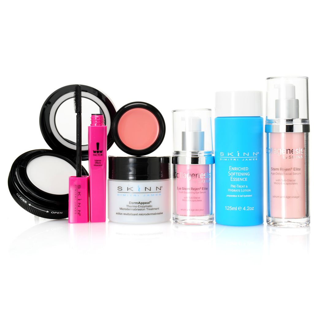 306-933 - Skinn Cosmetics Seven-Piece Skincare & Color Collection for Face & Eyes