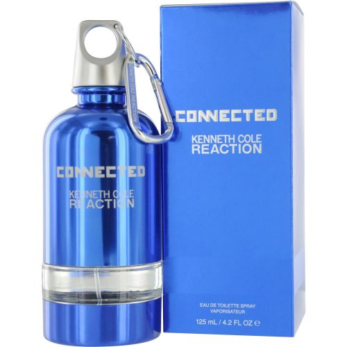 306-960 - Kenneth Cole Men's Reaction Connected Eau de Toilette Spray- 4.2 oz