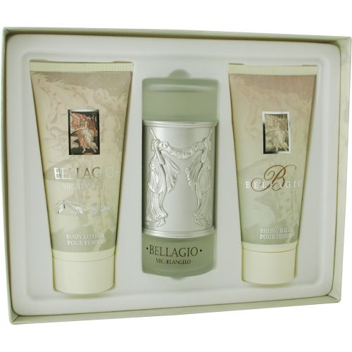 306-961 - Bellagio Eau de Parfum Spray, Body Lotion & Shower Gel Three-Piece Set