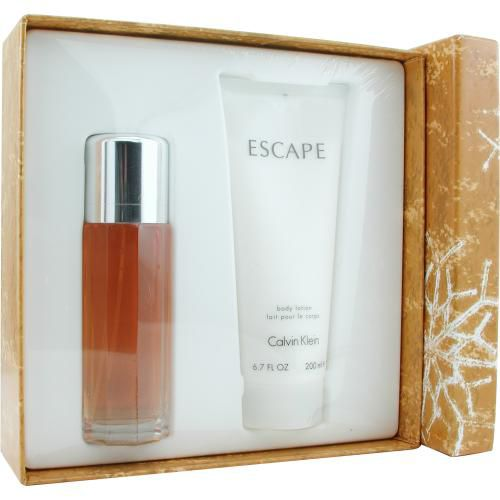 306-962 - Escape Set - Eau De Parfum Spray 3.4 Oz & Body Lotion 6.7 Oz