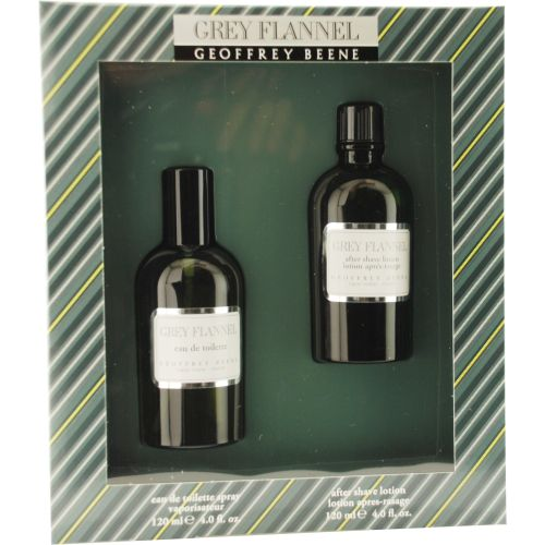306-966 - Grey Flannel Men's Set of Two 4 oz Eau de Toilette Spray & 4 oz Aftershave Lotion