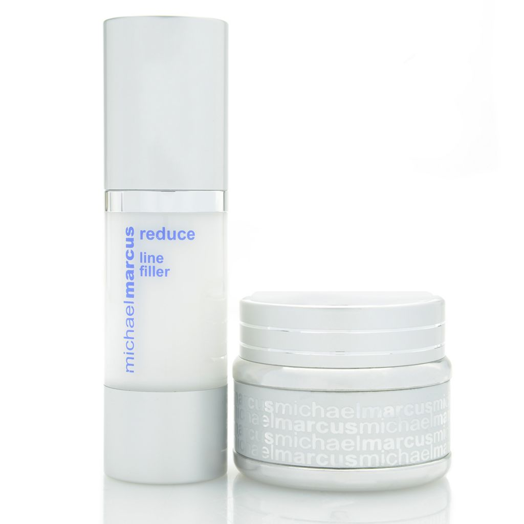 306-974 - Michael Marcus Hydrating Face Moisturizer & Hyaluronic Treatment Duo