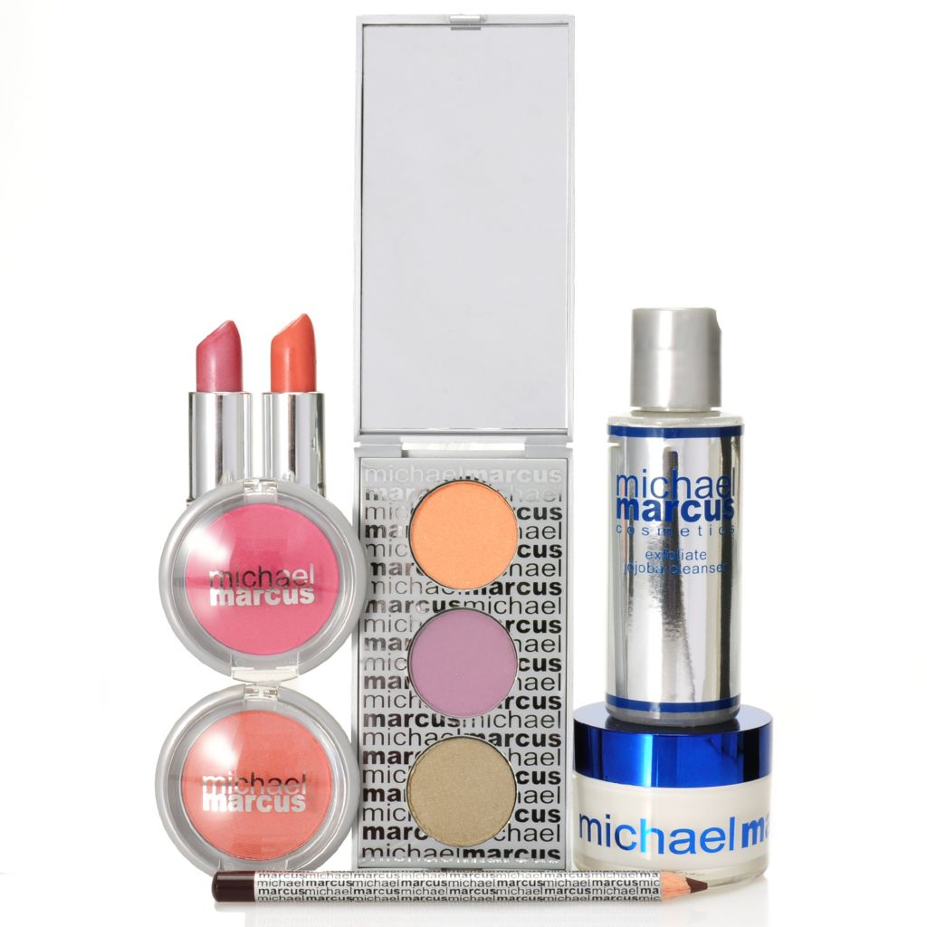 306-976 - Michael Marcus Eight-Piece Refreshing Color Collection for Eyes, Lips & Face