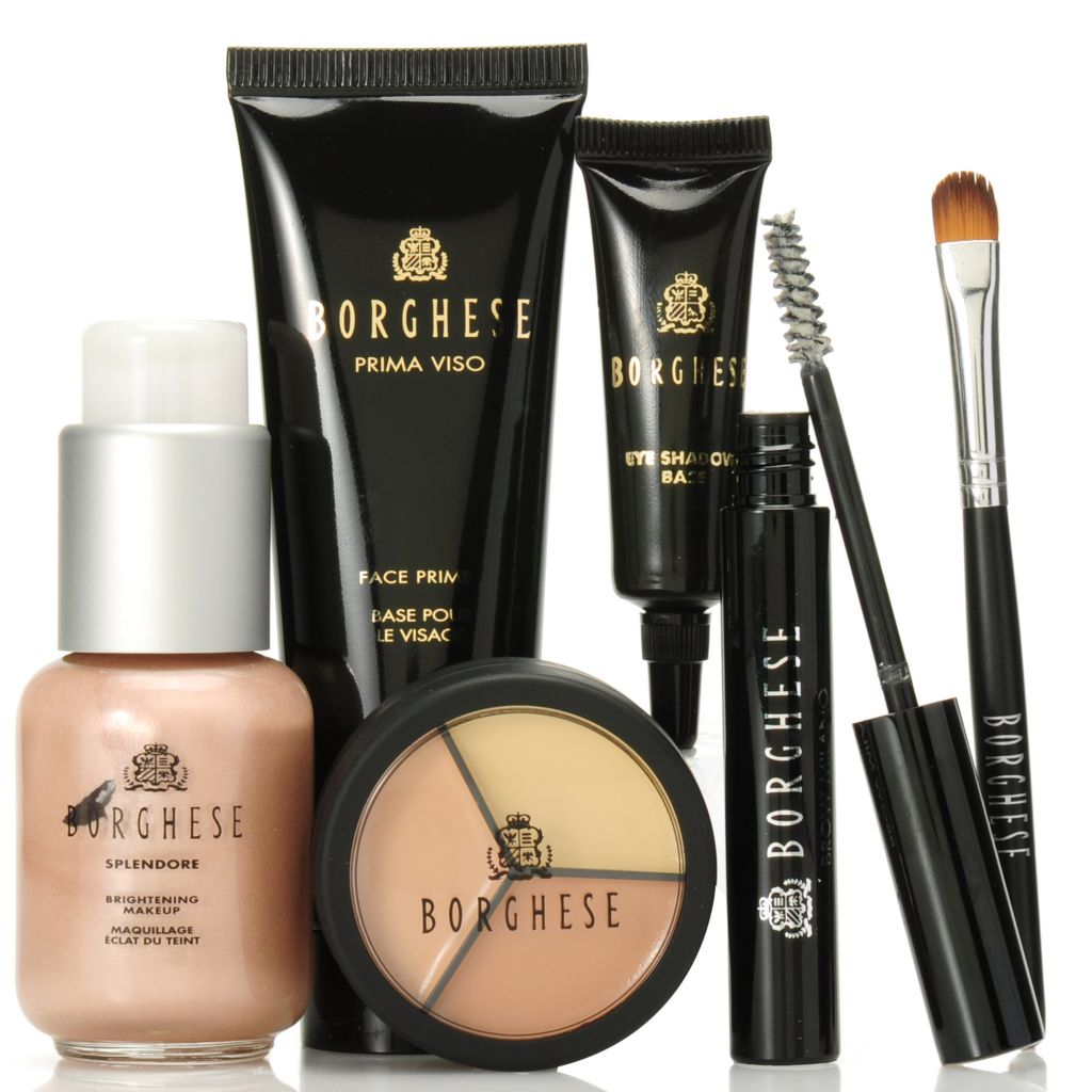 306-987 - Borghese Five-Piece Beauty Canvas Cosmetic Collection
