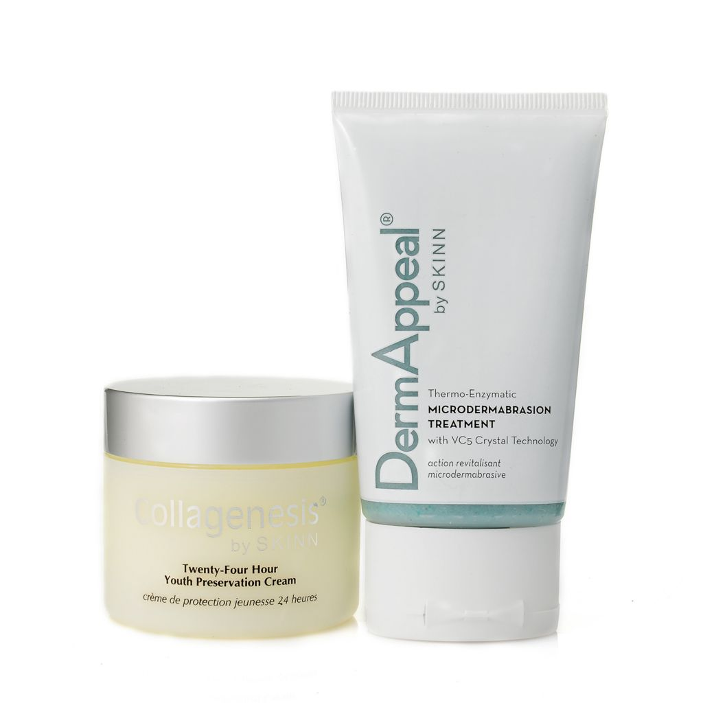 306-993 - Skinn Cosmetics 24-Hour Youth Preservation Cream & DermAppeal Treatment Duo