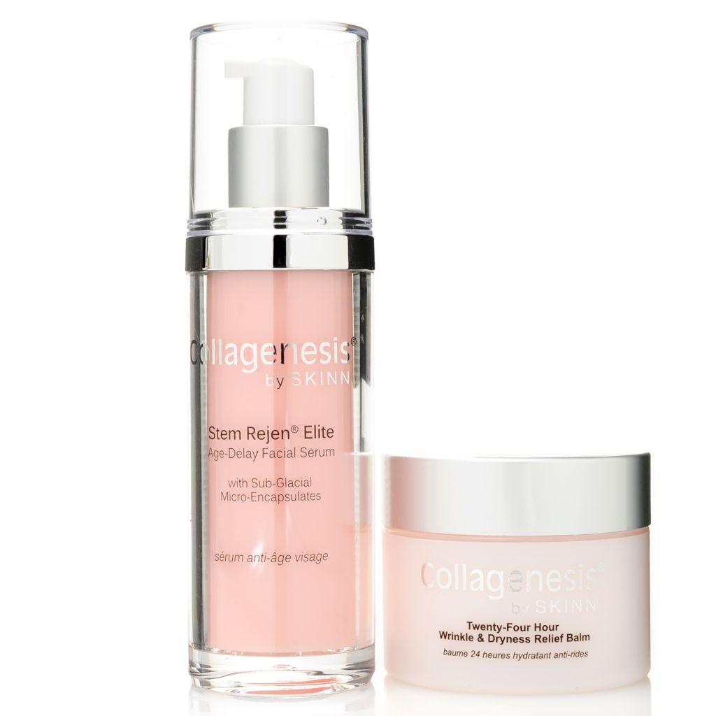 307-000 - Skinn Cosmetics Collagenesis Stem Rejen & Wrinkle Balm Dryness Relief Duo
