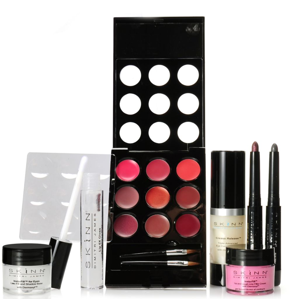 307-001 - Skinn Cosmetics Seven-Piece Complete Eye & Lip Collection