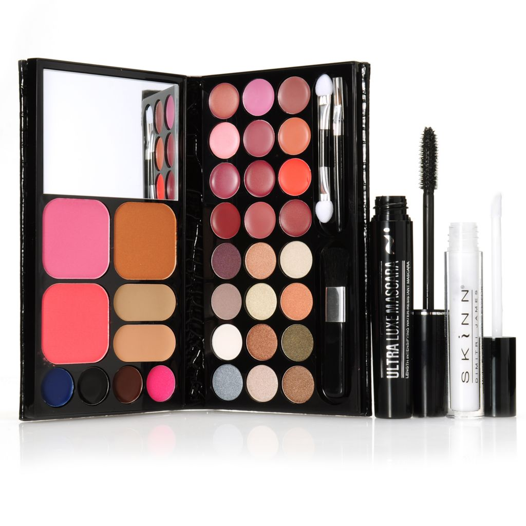 307-006 - Skinn Cosmetics Palette of Perfection, Under Eye Decrinkler & Mascara Trio