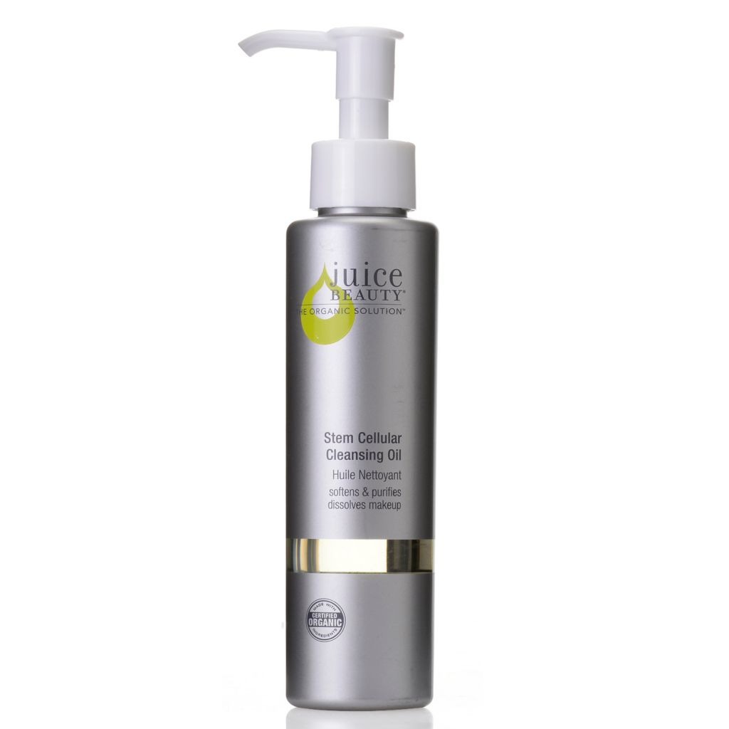 307-028 - Juice Beauty Certified Organic Stem Cellular Soften & Purify Cleansing Oil 4 oz